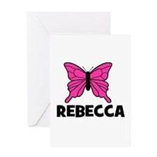 Butterfly - Rebecca Greeting Card