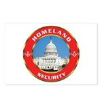 Masonic Homeland Security Postcards (Package of 8)