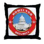 Masonic Homeland Security Throw Pillow