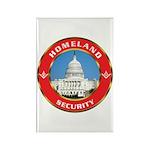 Masonic Homeland Security Rectangle Magnet (100 pa