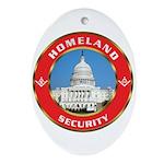 Masonic Homeland Security Oval Ornament