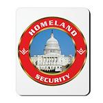 Masonic Homeland Security Mousepad
