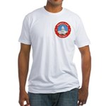 Masonic Homeland Security Fitted T-Shirt