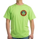 Masonic Homeland Security Green T-Shirt