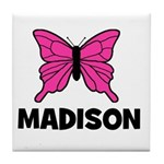 Butterfly - Madison Tile Coaster