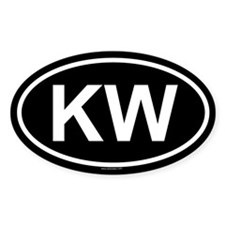 KW Oval Decal