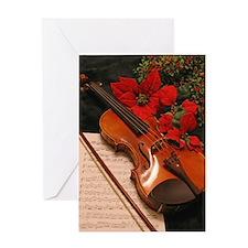 Holiday Violin Concerto Greeting Card