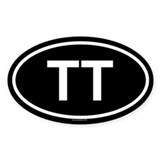 TT Oval Decal