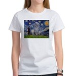 Starry /Scot Deerhound Women's T-Shirt