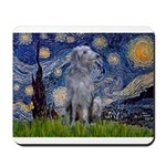 Starry /Scot Deerhound Mousepad