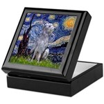 Starry /Scot Deerhound Keepsake Box