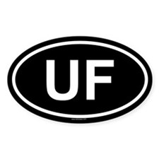 UF Oval Decal