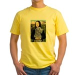 Mona /Scot Deerhound Yellow T-Shirt