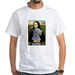 Mona /Scot Deerhound White T-Shirt