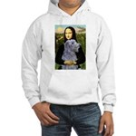 Mona /Scot Deerhound Hooded Sweatshirt