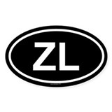 ZL Oval Decal