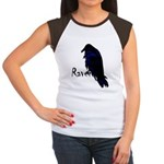 Raven on Raven Women's Cap Sleeve T-Shirt