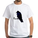 Raven on Raven White T-Shirt