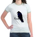 Raven on Raven Jr. Ringer T-Shirt