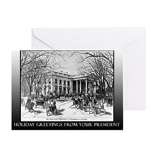 Miracles President Obama Holiday Greeting Card