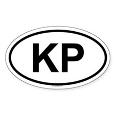 KP Oval Decal