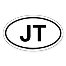 JT Oval Decal