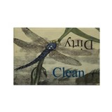 Dragonfly Dishwasher Magnet Rectangle Magnet