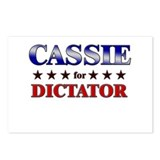 CASSIE for dictator Postcards (Package of 8)