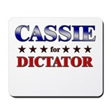 CASSIE for dictator Mousepad