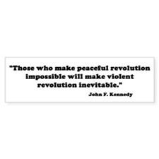 Revolution Bumper Bumper Sticker