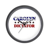 CAROLYN for dictator Wall Clock