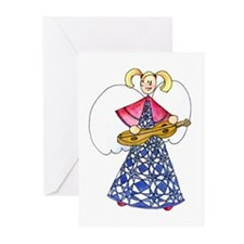Cute The road angel Greeting Cards (Pk of 10)
