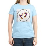 Footprints on your heart circ T-Shirt