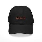 Anti-war Peace Letters Black Cap