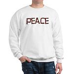 Anti-war Peace Letters Sweatshirt