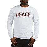 Anti-war Peace Letters Long Sleeve T-Shirt