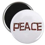 Anti-war Peace Letters Magnet