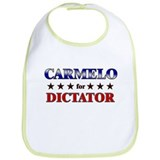 CARMELO for dictator Bib