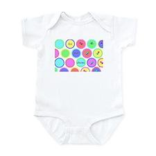 Funny Colored Infant Bodysuit