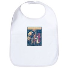 Crane's Red Riding Hood Bib