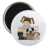 Puppy Dog Friends Magnet