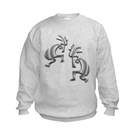 Two Kokopelli #60 Kids Sweatshirt