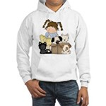 Puppy Dog Friends Hooded Sweatshirt