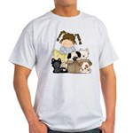 Puppy Dog Friends Light T-Shirt