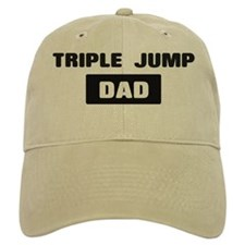 TRIPLE JUMP Dad Baseball Cap