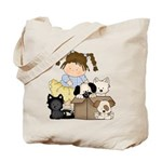 Puppy Dog Friends Tote Bag