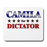 CAMILA for dictator Mousepad