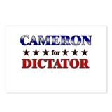CAMERON for dictator Postcards (Package of 8)