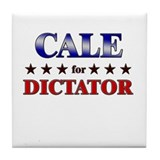 CALE for dictator Tile Coaster