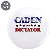 """CADEN for dictator 3.5"""" Button (10 pack)"""